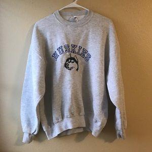 Vintage Washington Huskies Baggy Sweatshirt